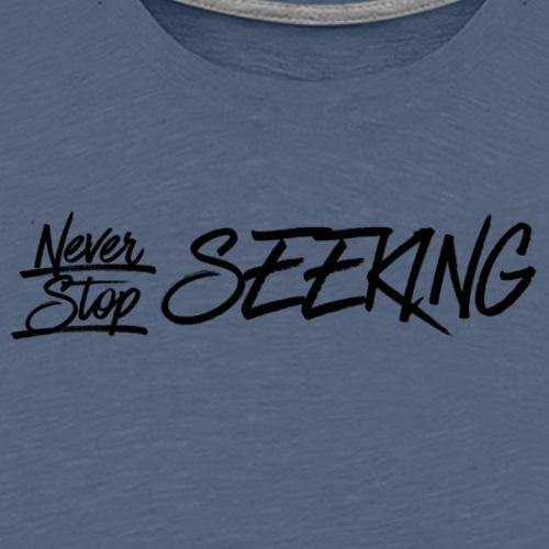 III Seekers- NSS - Midnight purple - Men's Premium T-Shirt