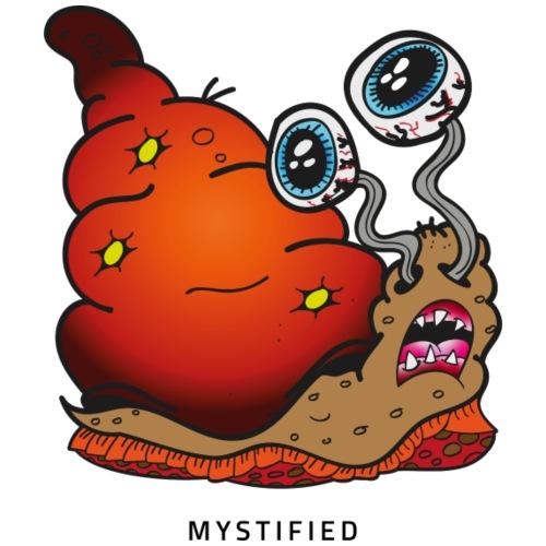 Mystified Crazy Snail - Mannen Premium T-shirt