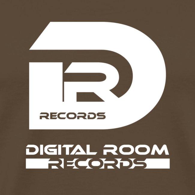 Digital Room Records Official Logo white
