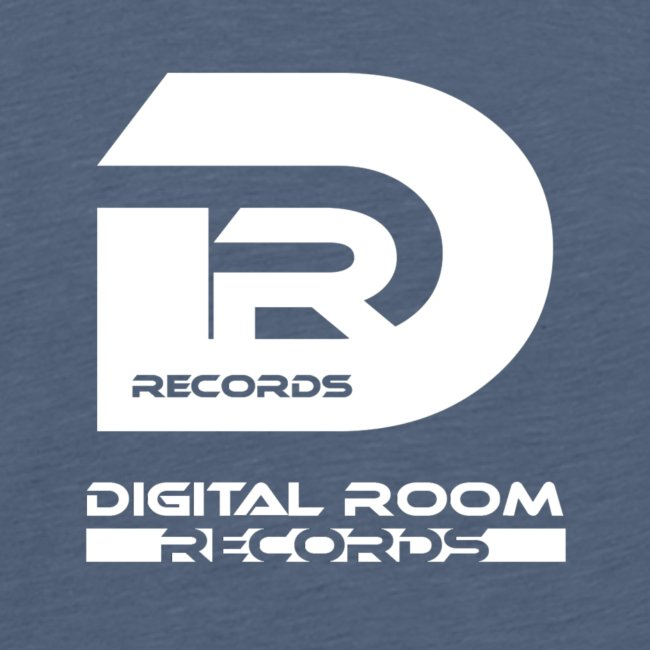 Digital Room Records Official Logo white