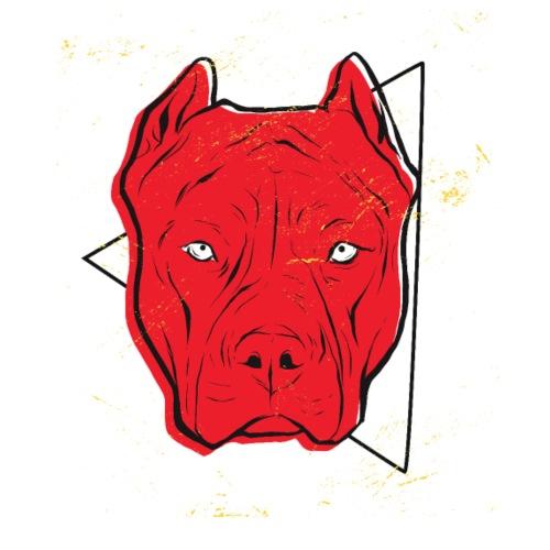 Pitbull Red - Männer Premium T-Shirt