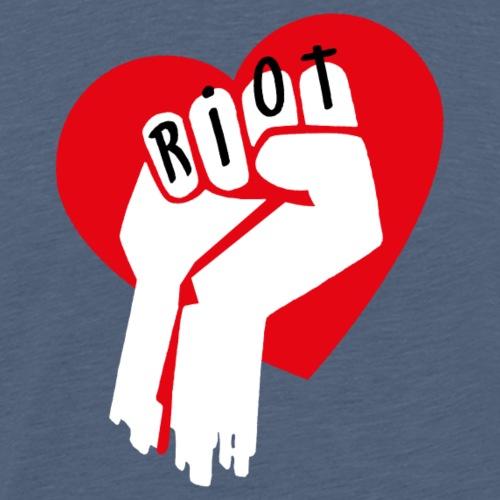 Riot Fist 1 - Männer Premium T-Shirt