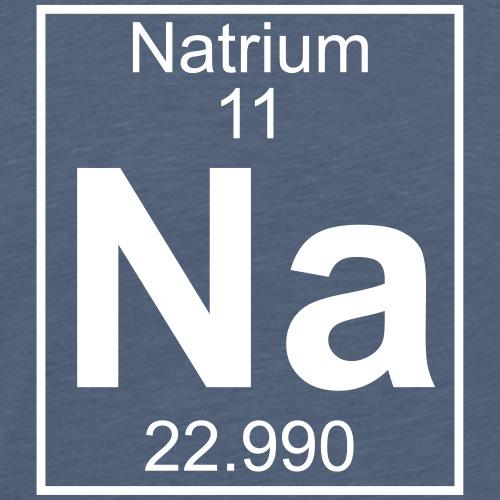 Natrium (Na) (element 11) - Men's Premium T-Shirt