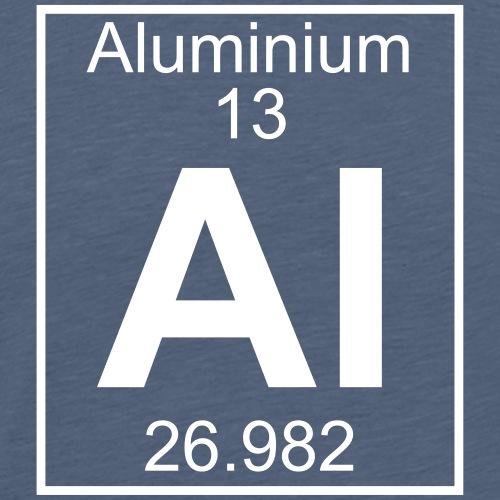 Aluminium (Al) (element 13) - Men's Premium T-Shirt