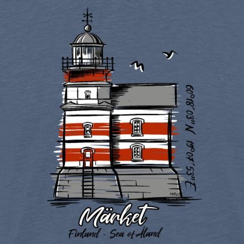 Finnish Lighthouse MÄRKET Sea Textiles, and Gifts - Miesten premium t-paita