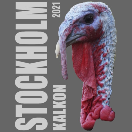 Stockholm Kalkon 2021 - Premium-T-shirt herr