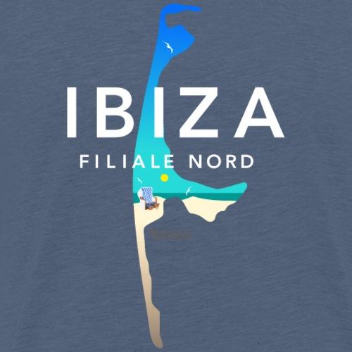 Sylt lustiger Spruch Ibiza Filiale Nord - Männer Premium T-Shirt