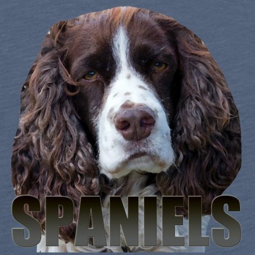 Spaniel - Premium T-skjorte for menn