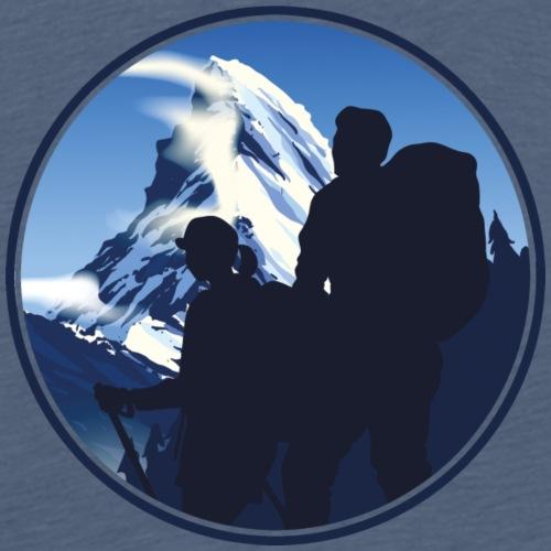 Matterhorn Wandern Outdoor - Männer Premium T-Shirt