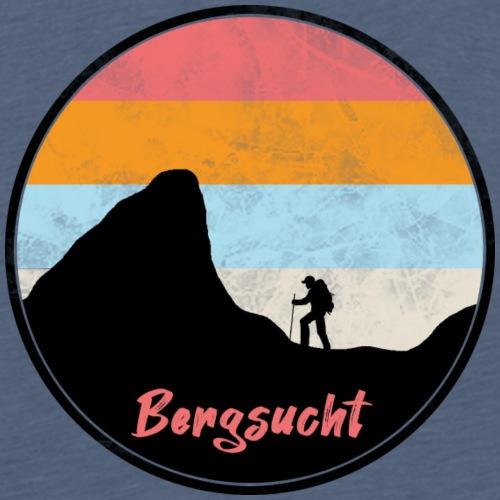 Bergsucht Outdoor Wandern - Männer Premium T-Shirt