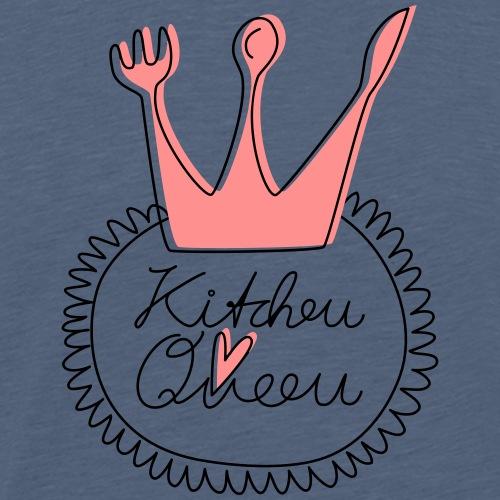 LES TROIS CR3ATEUSES_KITCHEN_QUEEN - Männer Premium T-Shirt