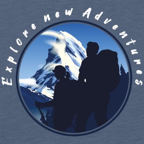 Matterhorn Adventures Wandern Outdoor - Männer Premium T-Shirt