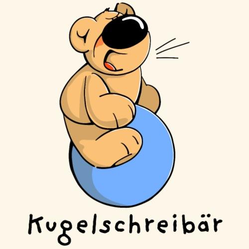 chris bear Kugelschreibär - Männer Premium T-Shirt