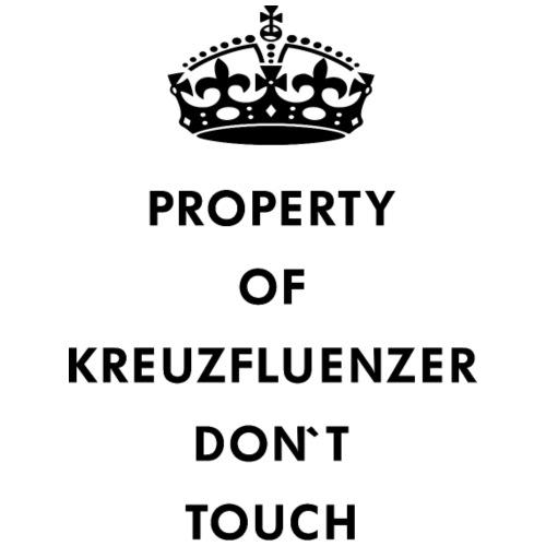Kreuzfluenzer Don´t Touch Black - Männer Premium T-Shirt