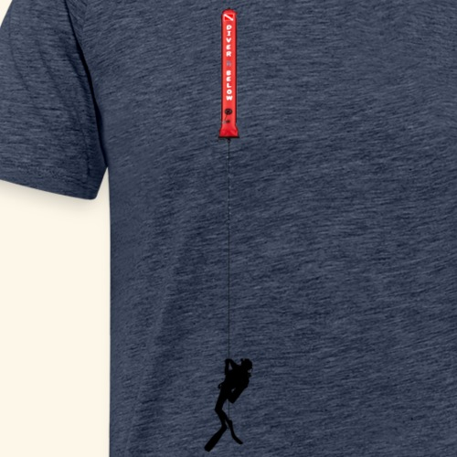 Diving parachute - Men's Premium T-Shirt
