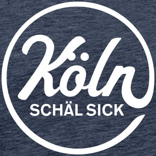 Köln Schäl Sick - Männer Premium T-Shirt