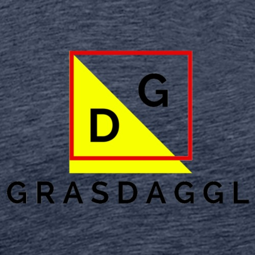 Grasdaggl - Männer Premium T-Shirt