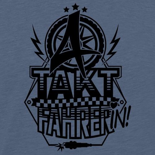 4-Takt-Fahrerin / Viertaktfahrerin - Men's Premium T-Shirt