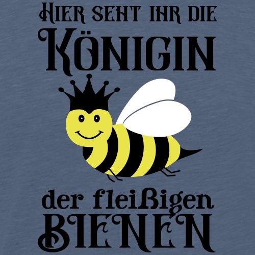 Danke Sagen Fleißige Biene Königin Spruch - Männer Premium T-Shirt
