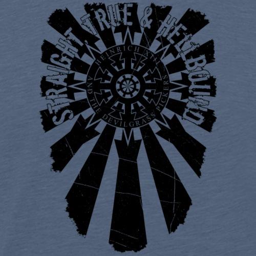 H13 Beams back black - Männer Premium T-Shirt