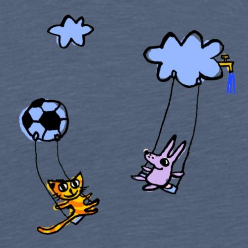wolkenschaukel - Männer Premium T-Shirt