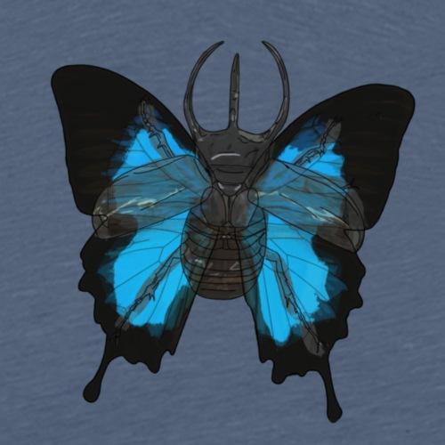 Escarabajo-mariposa - Camiseta premium hombre