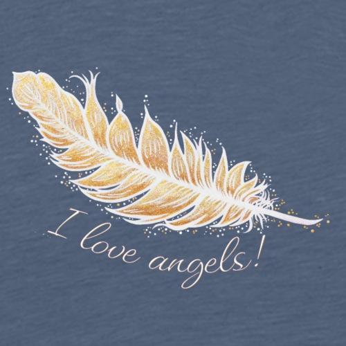 EngelFeder Love - Männer Premium T-Shirt