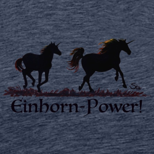 Einhorn-Power - Männer Premium T-Shirt