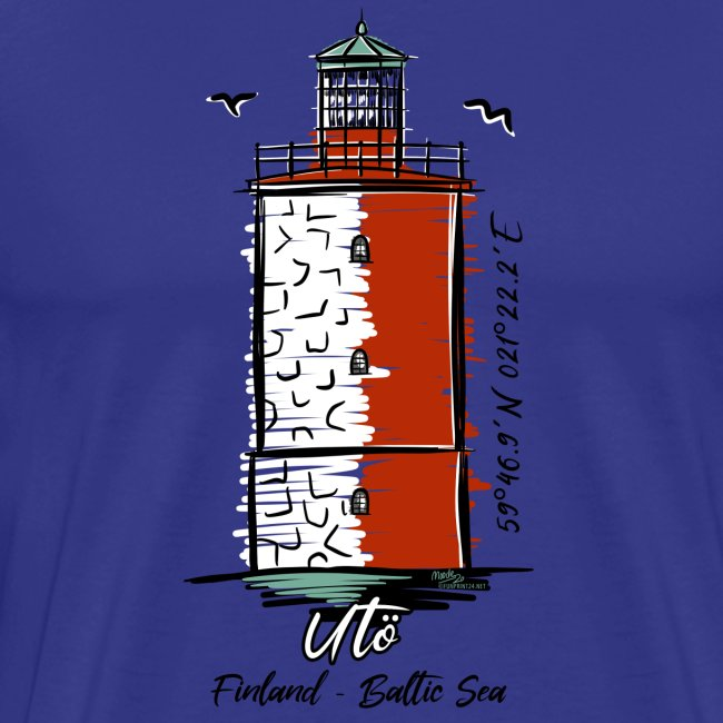 Finnish Lighthouse UTÖ Textiles, and Gifts