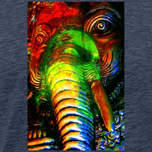 Ganesha Looking at us - Männer Premium T-Shirt