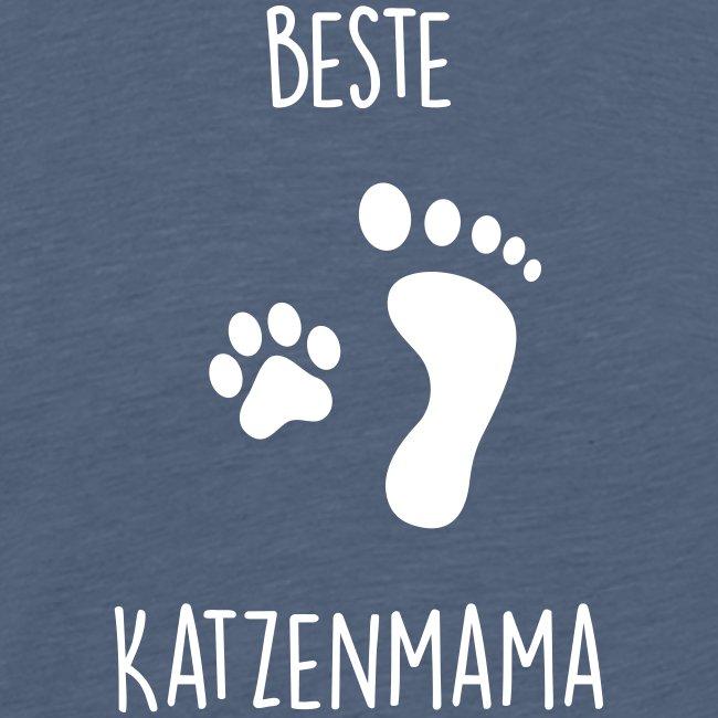 Vorschau: Beste Katzenmama - Männer Premium T-Shirt