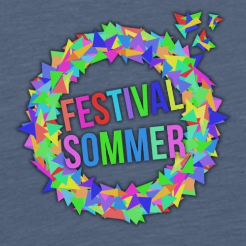 Festival Design by ghost squad - Männer Premium T-Shirt