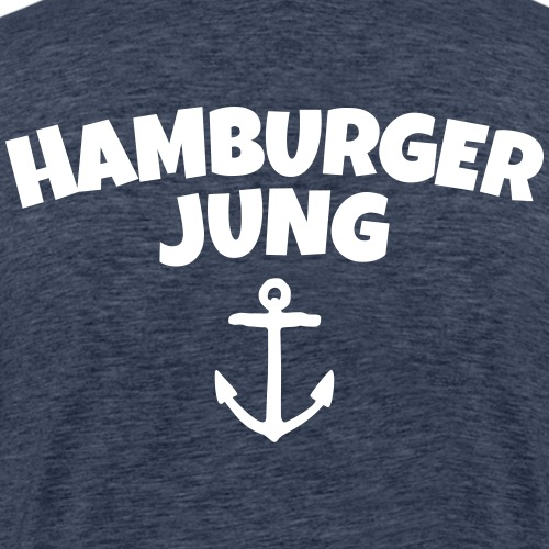 Hamburger Jung aus Hamburg - Männer Premium T-Shirt