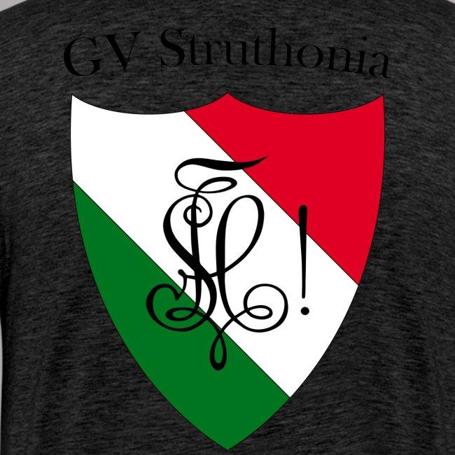 Wappen Struthonia beschriftet