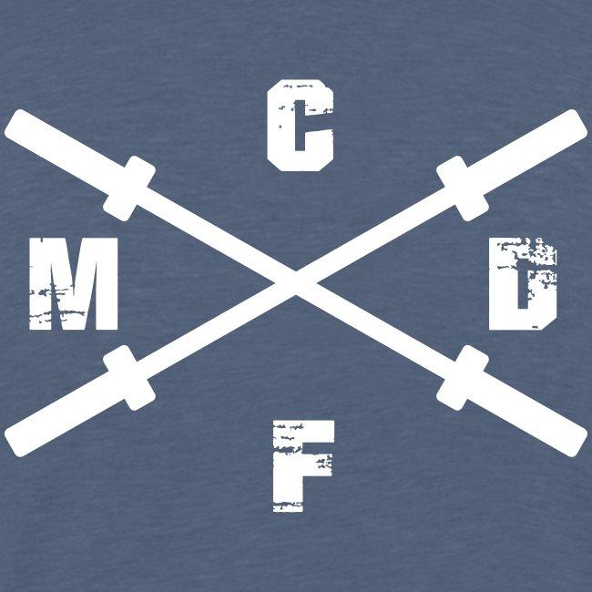 CFMD Crossed Barbells hell
