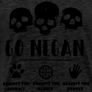 GO NEGAN - Premium T-skjorte for menn