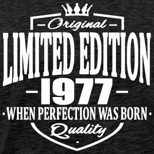 Limited edition 1977 - Premium T-skjorte for menn