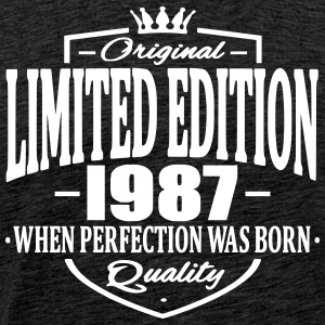 Limited edition 1987 - Männer Premium T-Shirt