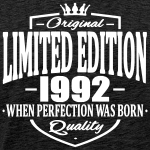 Limited edition 1992 - Premium T-skjorte for menn