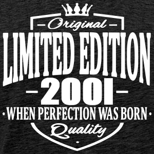 Limited edition 2001 - Mannen Premium T-shirt