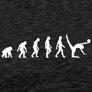 The Evolution Of Gymnastics - Men's Premium T-Shirt