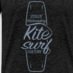 Kitesurf Culture Board Design - Men's Premium T-Shirt
