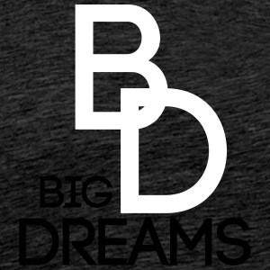 BIGDREAMS - Premium T-skjorte for menn