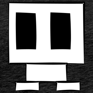 Little Robot - Mannen Premium T-shirt