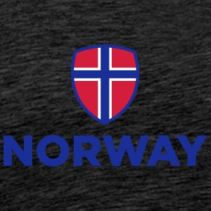 National Flag Of Norway - Men's Premium T-Shirt