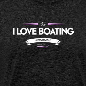 boating_logo_6 - Premium T-skjorte for menn