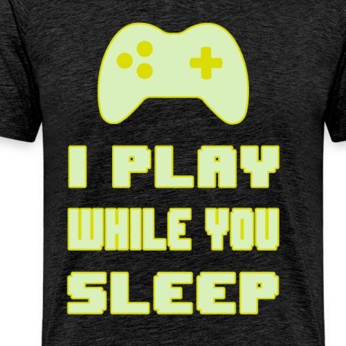 Gamers do not Sleep - Men's Premium T-Shirt