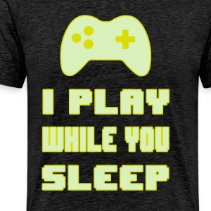Gamers don't Sleep - Maglietta Premium da uomo