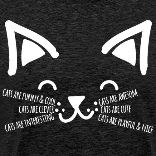 Cats are cool - Männer Premium T-Shirt