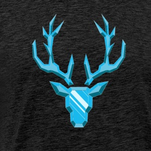 Precious Stone: Diamond Deer - Men's Premium T-Shirt